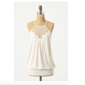 Anthropologie Deletta Staggered Gleam Top - Small